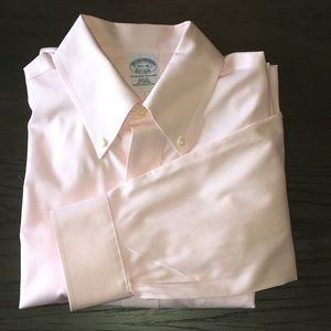 Brooks Brothers Pink Pastel Dress Shirt 15.5 - 35